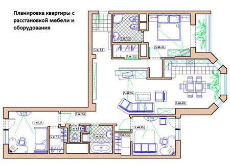 Электропроект квартиры с согласованием